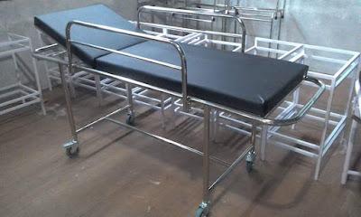 distributor brankar pasien emergency dorong rumah sakit