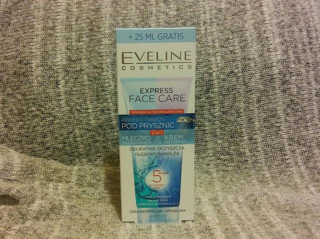 Eveline, Express Face Care - krem do twarzy pod prysznic 2w1.