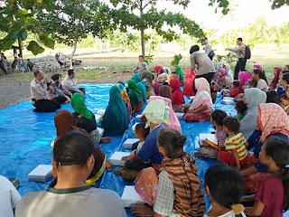 Sat Bimnas Gelar Fokus Group Discussion Tentang Bahaya Narkoba Dan KDRT Di Lingkungan Mapak Kelurahan Jempong Baru.