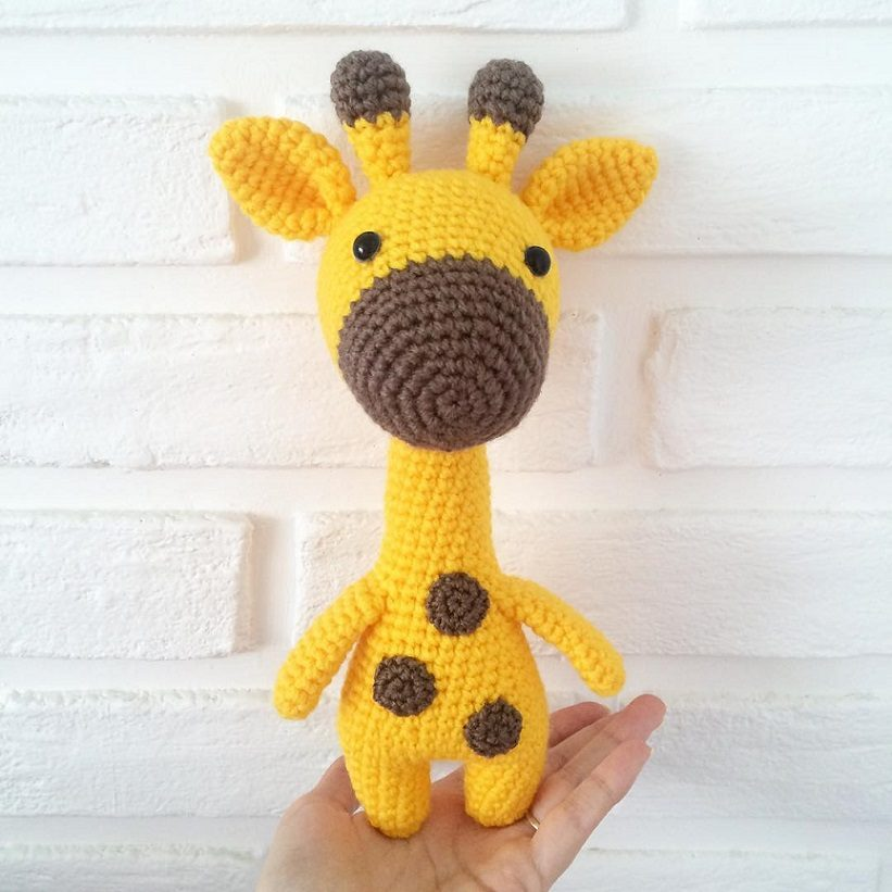 Amigurumi Crochet Giraffe Pattern Amiguroom Toys