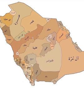 خرائط القبائل السعودية الاصلية خرائط القبائل السعودية الاصلية