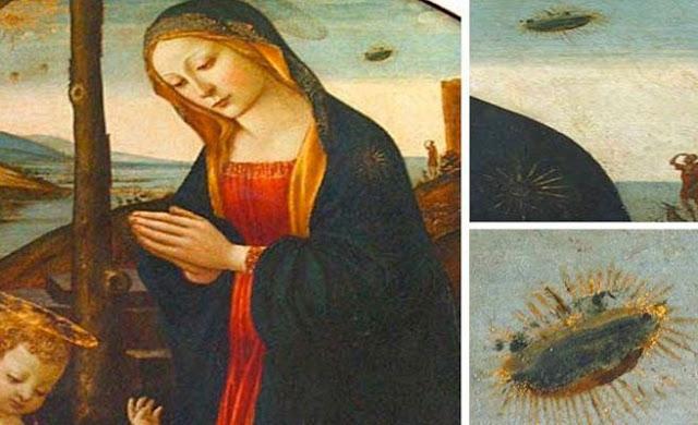 La Virgen de Guirlandaio