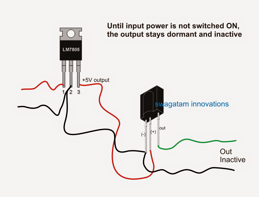 how to connect a tsop1738 ir sensor. Black Bedroom Furniture Sets. Home Design Ideas