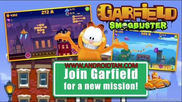 Garfield Smogbuster Mod Apk Latest Version