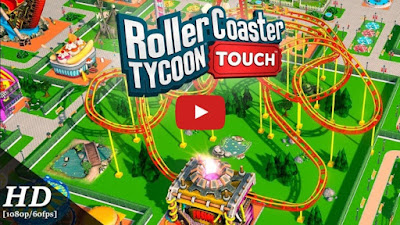 RollerCoaster Tycoon Touch Mod Apk + Data for Android