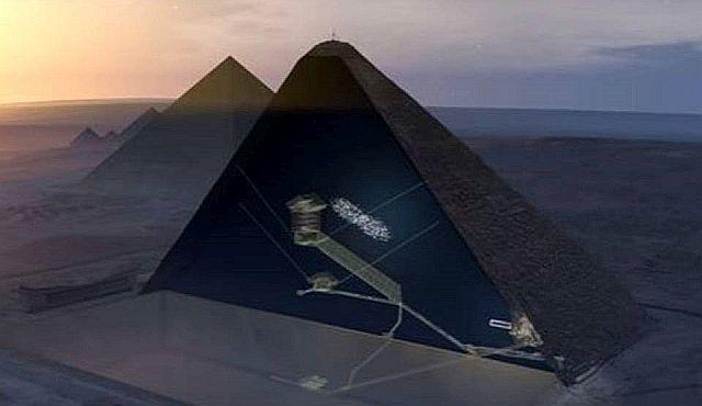 Secret Chamber In Giza Pyramid May Hold Pharaoh's 'Meteorite Throne' Great%2BPyramid%2Bof%2BGiza