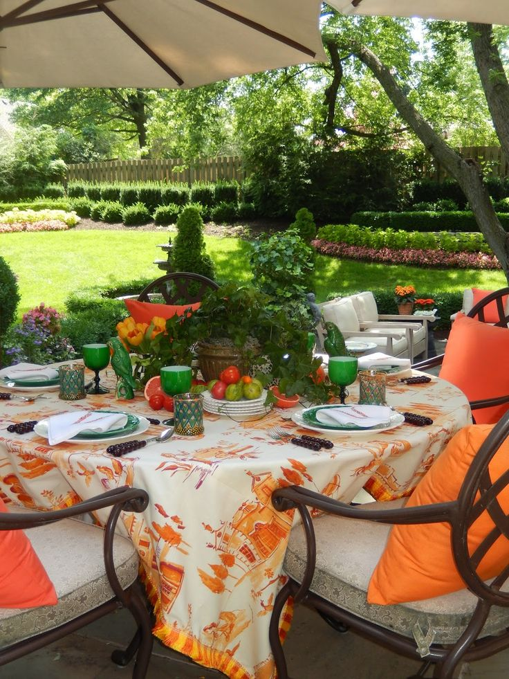 Outdoor Dream Chair Swivel Vanity Cheap The French Tangerine: ~ Dining Al Fresco
