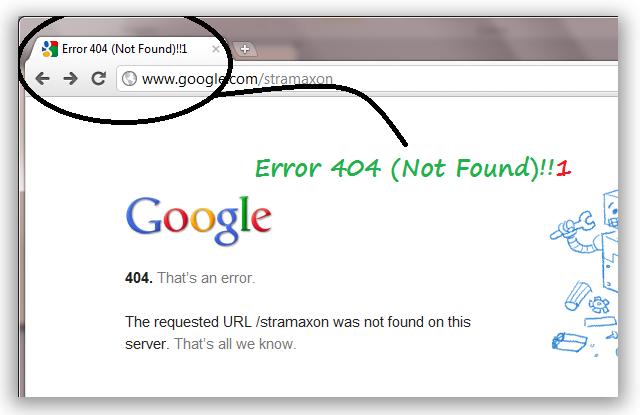 error 404 page - photo #34