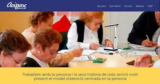 Portada nou web Aviparc Centre de dia