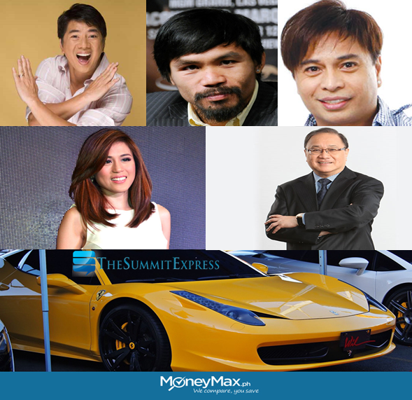 Meet 5 Richest Personalities In The Philippines And Their Luxury Cars