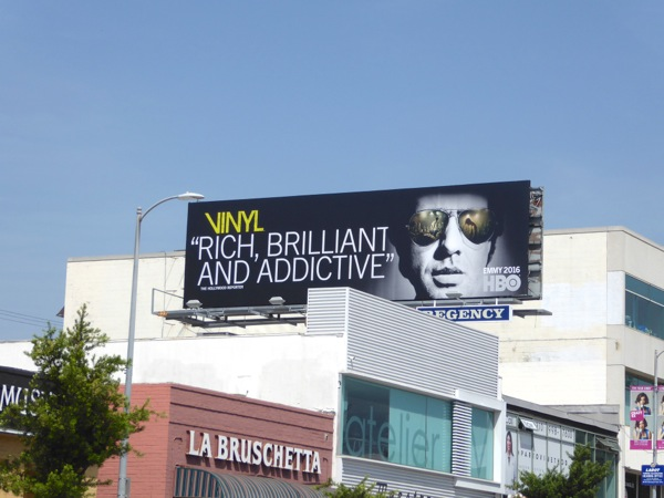 Vinyl HBO Emmy 2016 billboard