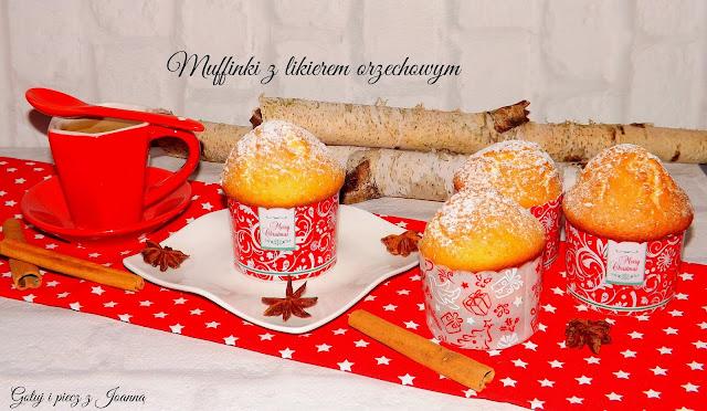 Muffinki z likierem orzechowym