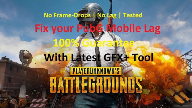 fix your pubg mobile lag no framedrops trick