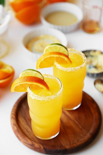 Brunch and Booze Book Club: April 2016 from Honey and Smoke Studio - Good Morning Margaritas from The Candid Appetite