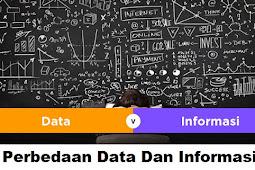 Penjelasan Tentang Perbedaan Data Dan Informasi Serta Contohnya