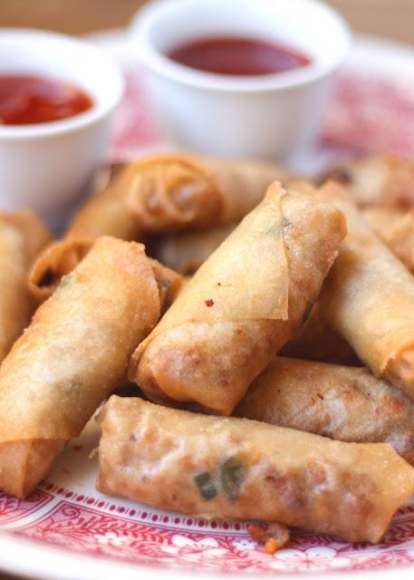 How To Make Filipino Lumpia - get the recipe at barefeetinthekitchen.com