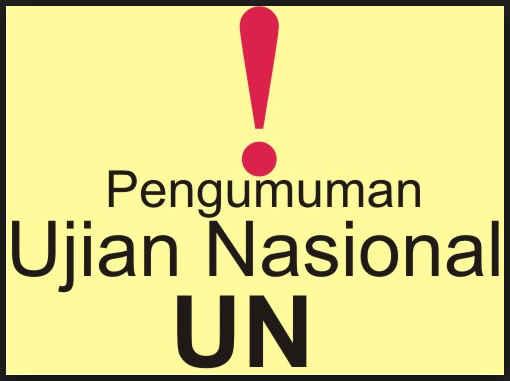 Surat Keterangan Lulus Siswa UN Format Excel dan Word