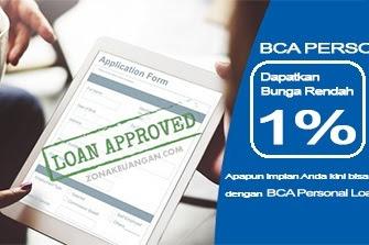 BCA Personal Loan: Nikmati Pinjaman dengan Bunga Rendah 1% Per Bulan