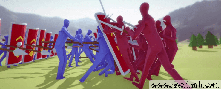 Jogos de guerra, simulador: Totally accurate battle simulator