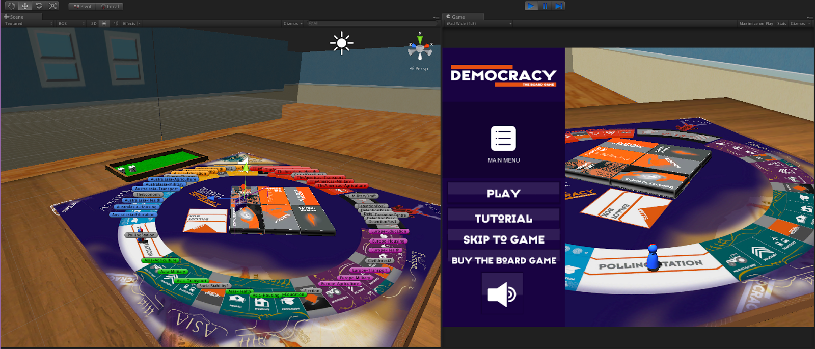 Democracy: The Board Game Development