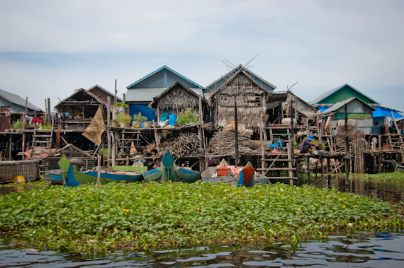 Floating village tours from Mad Monkey Hostel, Siem Reap