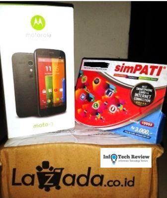 Paket Internet Murah SimPATI Bundling MOTO G Dari Telkomsel