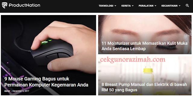 product nation, lamanweb ProductNation, review pelbagai produk, review produk kecantikan, penjagaan kulit terbaik, face mask pilihan, tips mencari produk
