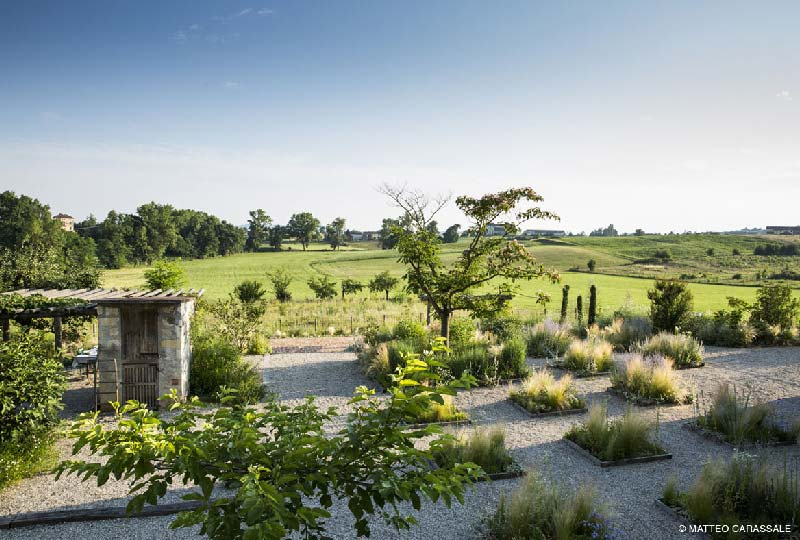 Il giardino progettato per Cascina Costiera