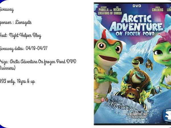 Arctic Adventure On Frozen Pond DVD #Giveaway