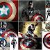 Capitán América: Tarjetas o Invitaciones para Imprimir Gratis.