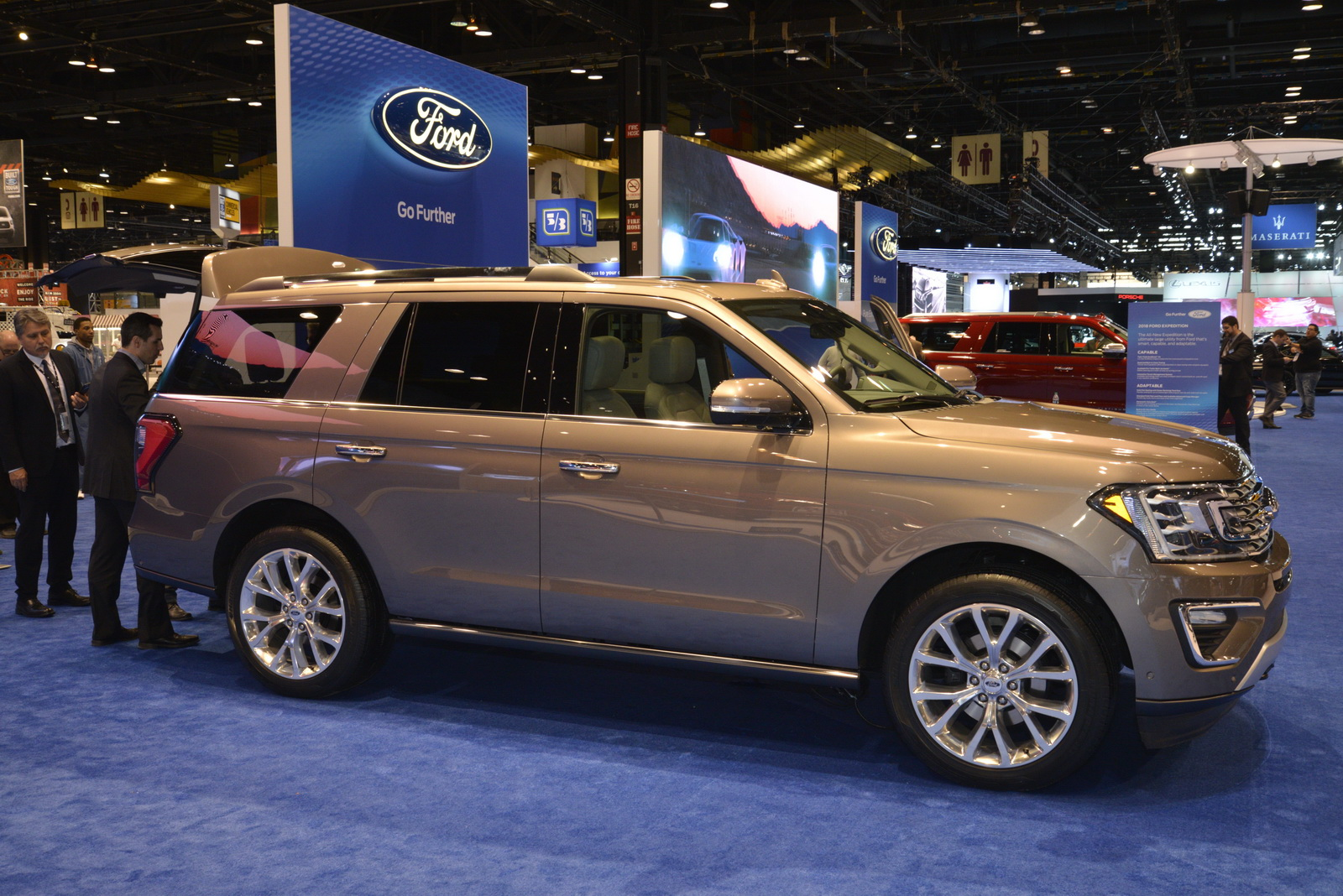 Big Kid Car Seat >> 2018 Ford Expedition Is The New Big Kid On The Block | Carscoops