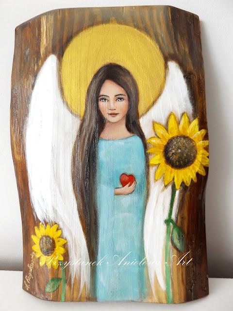 Anioły w słonecznikach