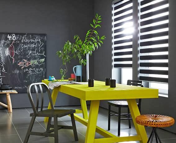 Decorar Con Amarillo Y Gris Colores En Casa