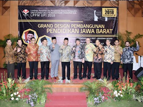 grand design pendidikan di Jawa Barat