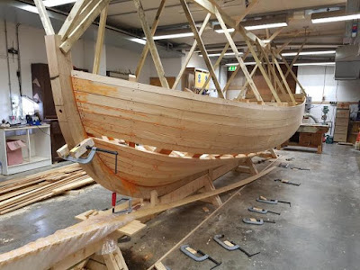 Building the boat Captain Bligh was cast adrift on at a new exhibition in Falmouth 2017