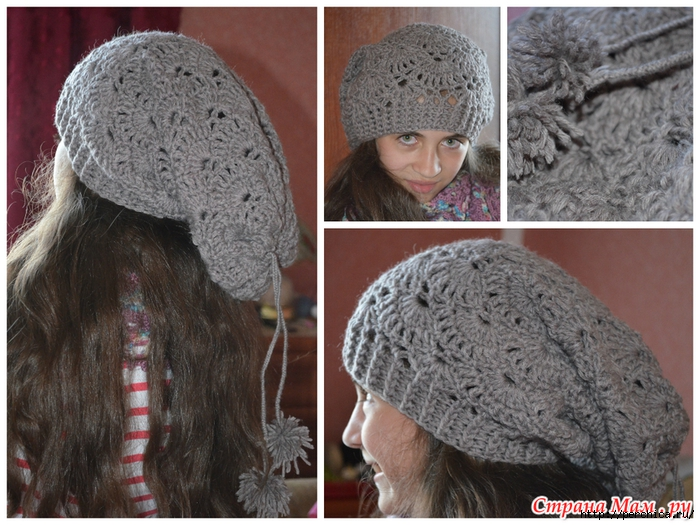 Ideas para el hogar: Gorros / Capelinas / Patrones / Crochet