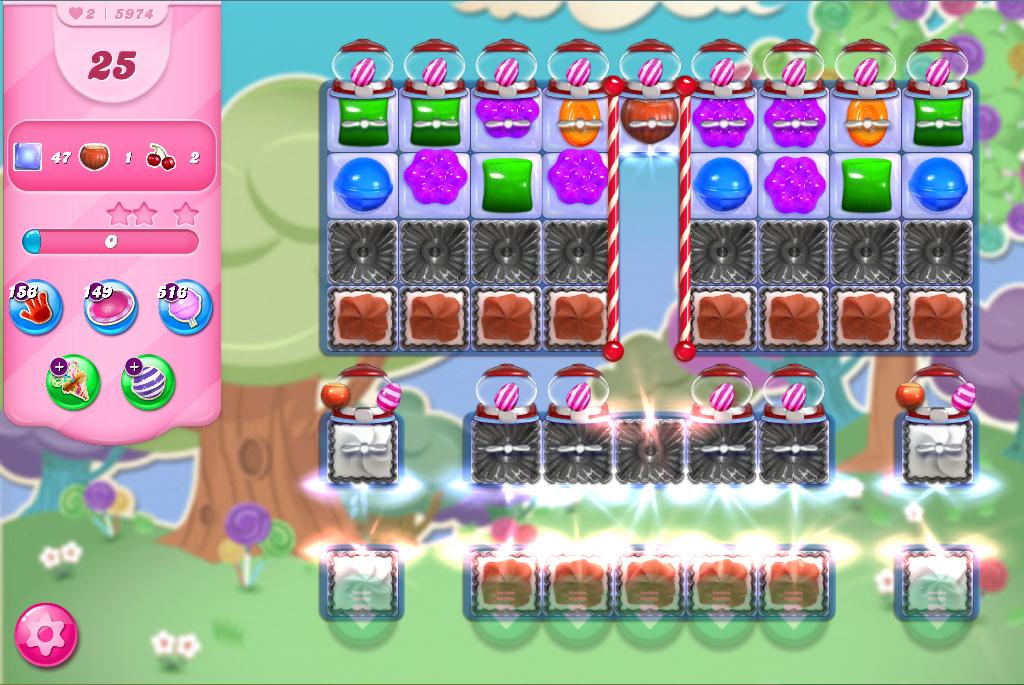 Candy Crush Saga level 5974