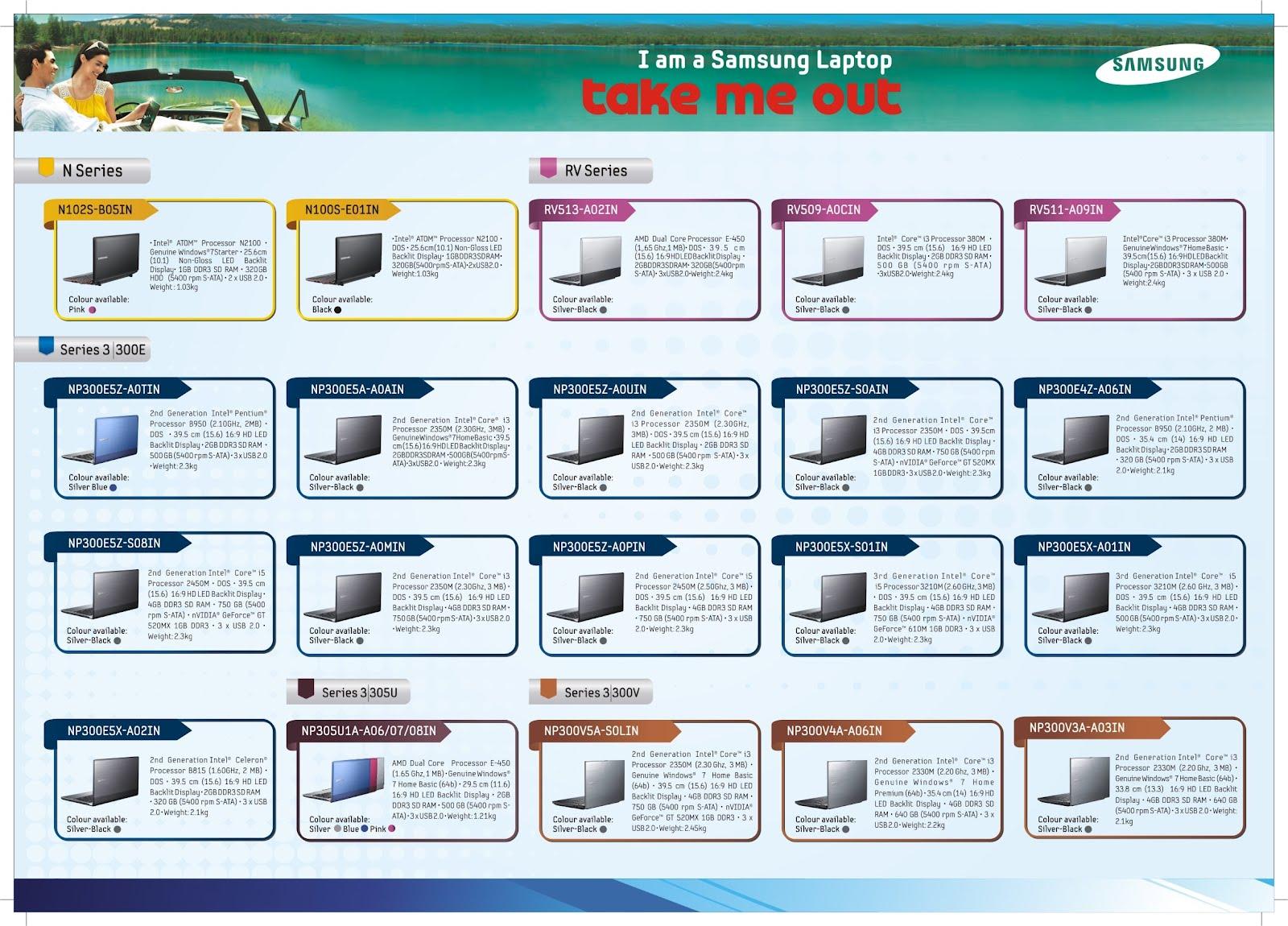 Latest Samsung Laptop Price List in chennai | Big Buy ...