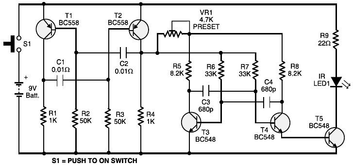 rc car circuit diagram