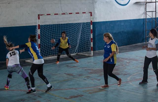 Liga de handball en Punilla