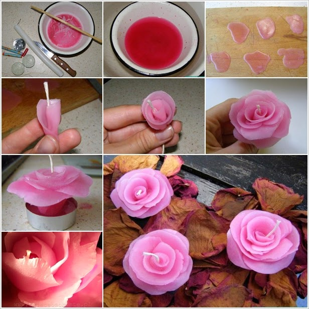 How Amazing These Rose Candles