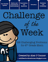 https://www.teacherspayteachers.com/Product/Challenge-of-the-Week-6th-Grade-Math-1904489
