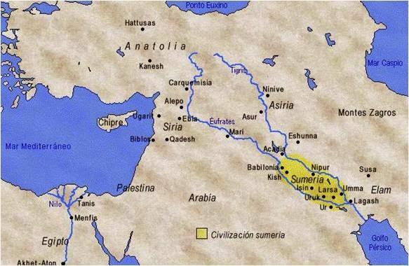 Mesopotamia+Paralelo+33 - Paralelo 33. Misterios de la Tierra.