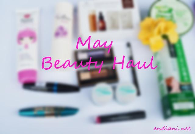 may-beauty-haul