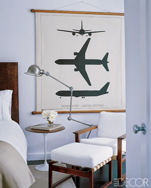 Airplane Bedroom Decor: Willow Bee Inspired: Well Dressed Home No. 53