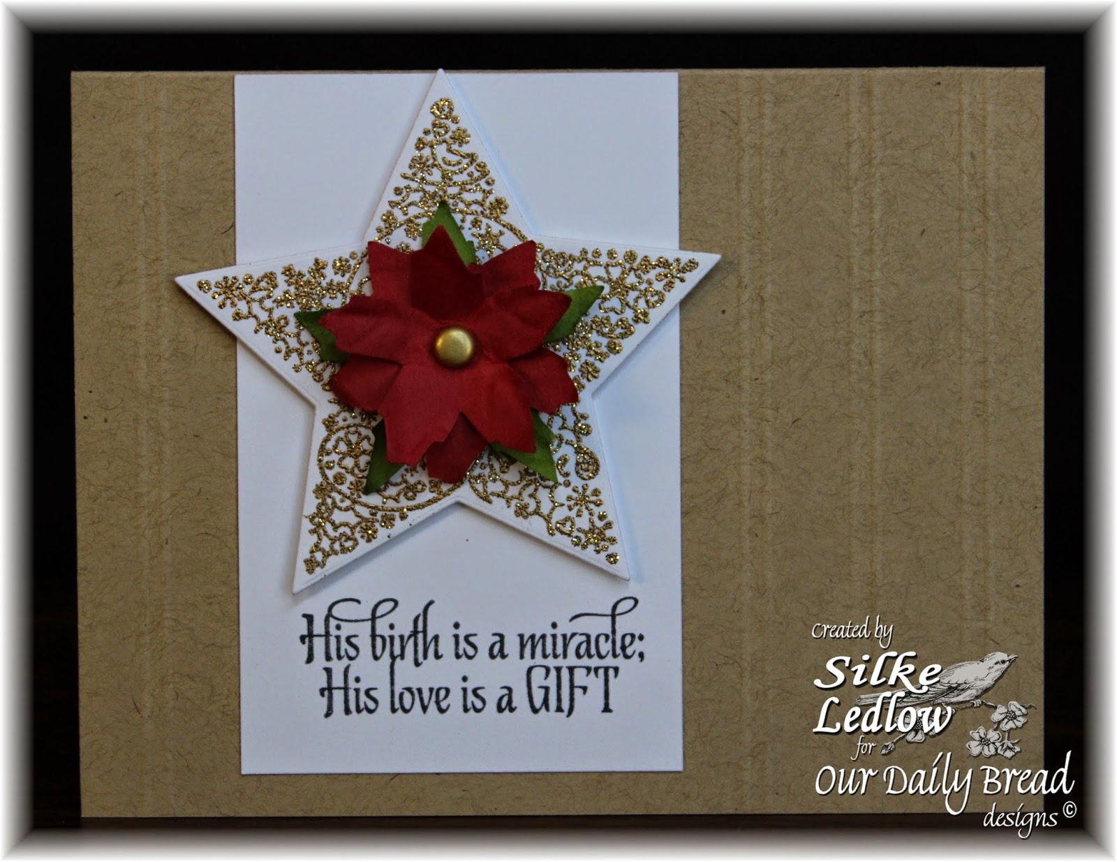 Stamps - Our Daily Bread Designs His Birth, ODBD Custom Sparkling Stars Dies
