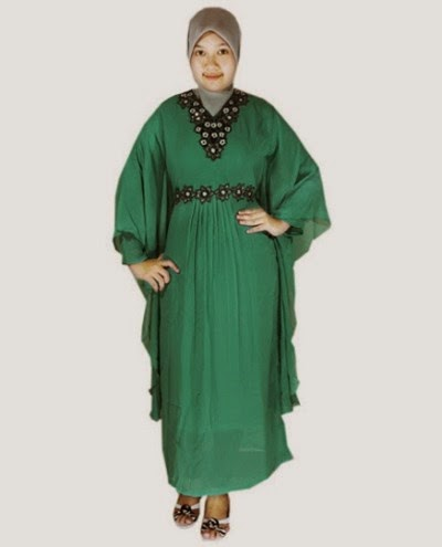 Desain baju muslim syar'i untuk wanita berbadan gemuk