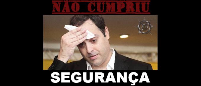 O QUE PAULO CÂMARA NÃO CUMPRIU – SEGURANÇA