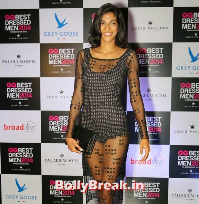 Anushka Manchanda, Evelyn, Kim, Nargis Sizzle at GQ Best Dressed Men 2014 Awards