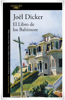 El libro de los Baltimore de Joël Dicker